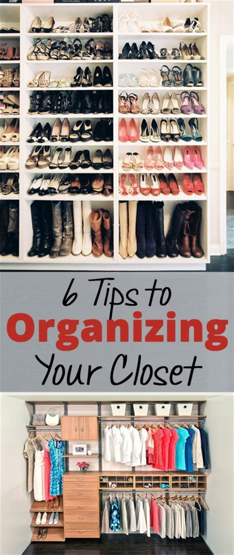 8 Tips For Reorganizing Your Closet 6 tips to organizing your closet brick glitter