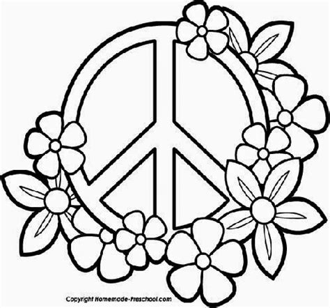 color for peace peace coloring sheets free coloring sheet
