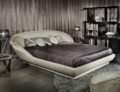 designer beds streamlined ball room italian designer upholstered fabric bed