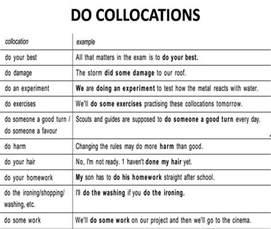 collocations do