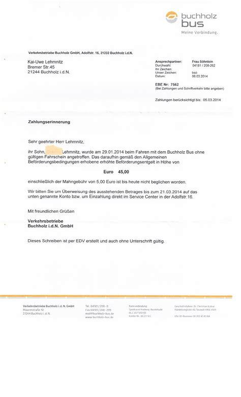 Mahnung Muster Mahngebühren Der Rechtsanw 228 Ltin Pirko Silke Lehmitz