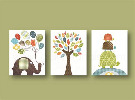 Nursery Wall Decorations Nursery Prints Baby Boy Nursery Decor Nursery Wall