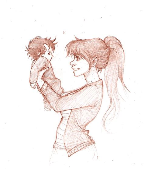 Maxy Jily 2 and baby harry by http mickisketch