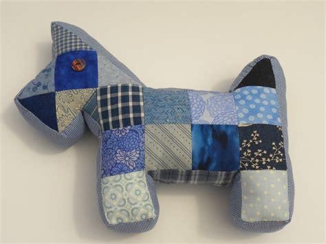 Patchwork Scottie - becca lou creates patchwork scottie tutorial