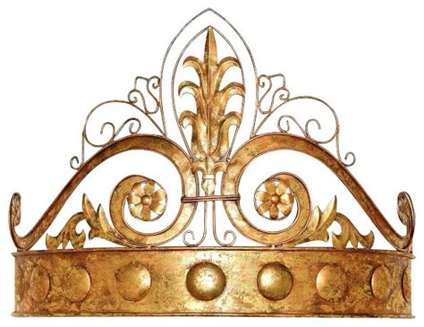 gold crown versailles photography art crown home decor antique gold crown tester bed crown transitional home