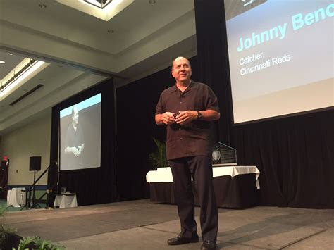 johnny bench hall of fame ibex 2015 baseball s johnny bench inspires as keynote speaker trade only today