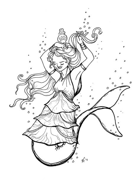 coloring page mermaid and dolphin mermaid with dolphin coloring pages