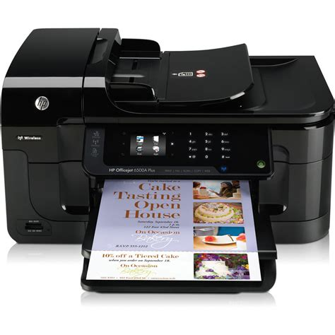 Printer Hp Officejet All In One hp officejet 6500a plus e all in one wireless inkjet