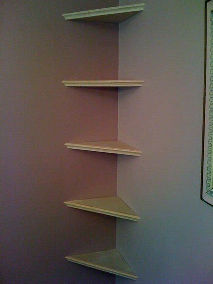 floating corner shelves by ronahaa lumberjocks com