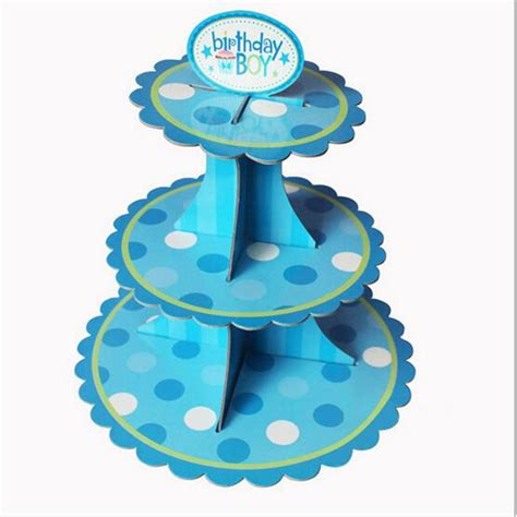 Home Decorator Coupons by New 3tier Cardboard Cupcake Cake Muffin Dessert Plate Tray