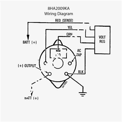 delco alternator wiring diagram collection