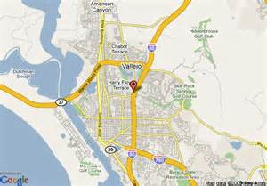 vallejo california map object moved