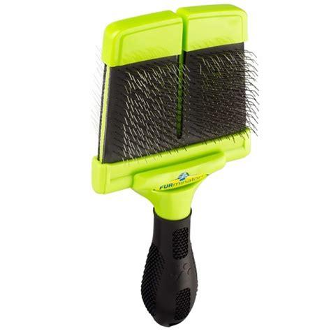 furminator brush furminator soft slicker brush large healthypets