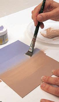 acrylic painting techniques blending best 25 painting tips ideas on