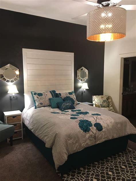easy diy shiplap headboard queen bed master retreat