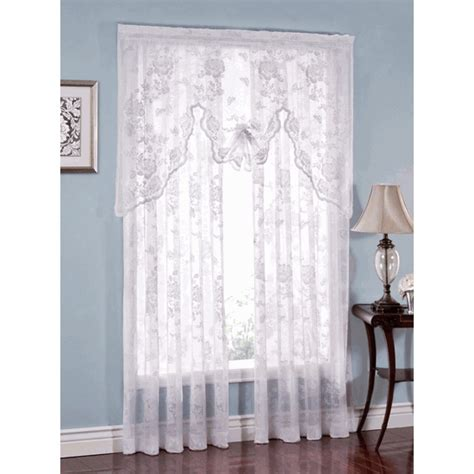 hummingbird curtains tea rose lace curtains and valance by heritage lace
