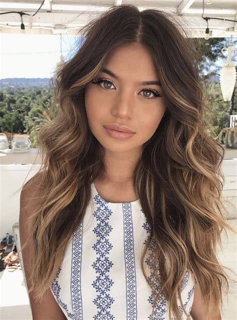 highlights for latina hair 108 best latina hair color ideas images on pinterest