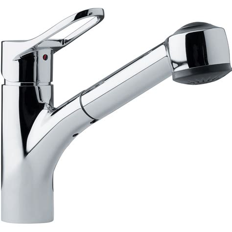 shop franke mambo chrome 1 handle pull out kitchen faucet