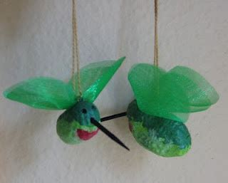 homemade hummingbird ornaments 1000 images about nuts on easy ornaments crafts and ornaments