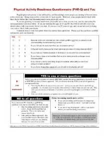 par q form template par q form templates fillable printable sles for