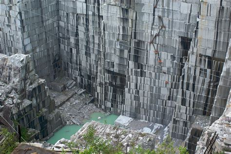 Whete Does Marble Come From - amazing drone footage of an abandoned vermont quarry