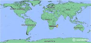 Madagascar World Map by Where Is Madagascar Where Is Madagascar Located In The