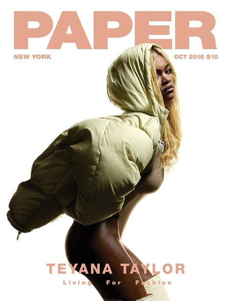 Paper From Magazines - teyana covers paper magazine oct issue