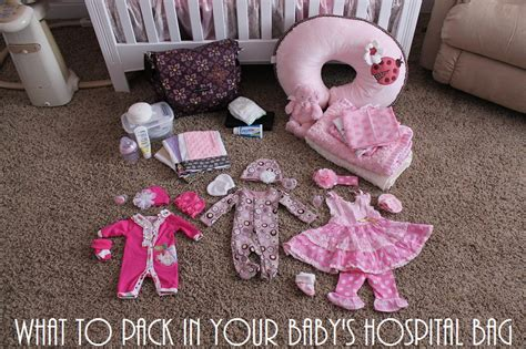 what to pack in hospital bag for baby c section what to pack in your baby s hospital bag mommy s little
