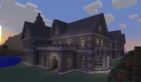 Minecraft Mansion Minecraftideas Com Haunted House Blueprints Minecraft