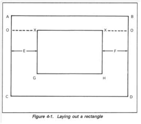layout of building baseline layout of building terminologies methods of building
