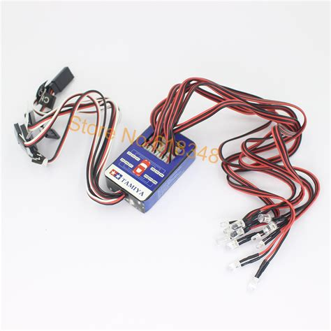 aliexpress buy 12 led lighting system kit smart simulation lights 1 10 drift on road rc