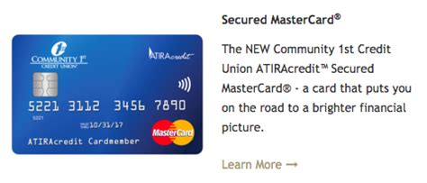 Forum Credit Union Secured Credit Card how to apply for a community 1st credit union secured