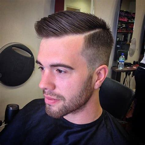 hard part hair men ickbarford high tight hard part on joe from harley