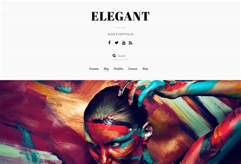 elegant themes photo gallery elegant theme minimal blog portfolio