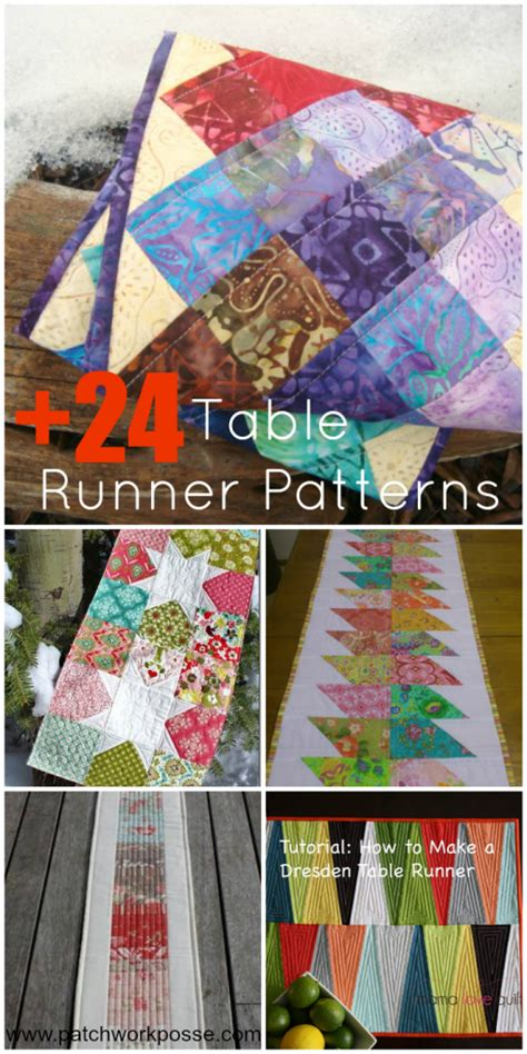 pattern for quilt as you go table runner 24 table runner patterns
