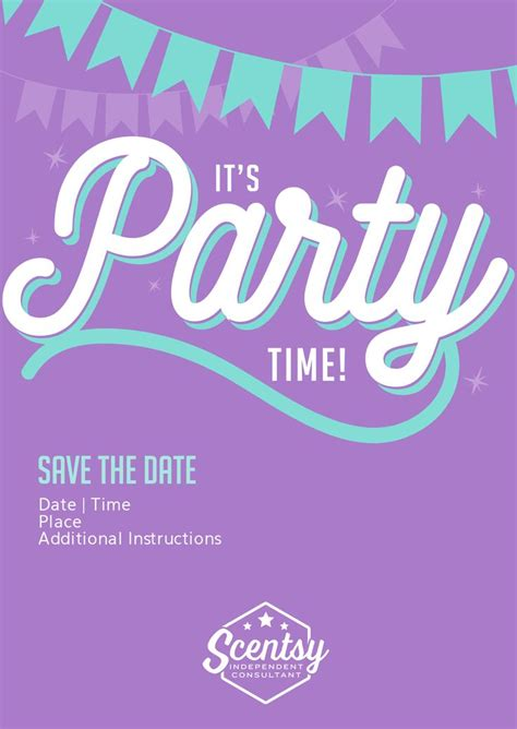 scentsy invitation templates scentsy invitation scentsy invitations and