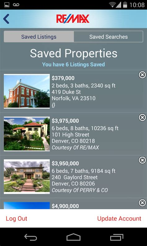 homes for sale listings search feature find all real estate broker re max real estate search android apps on google play