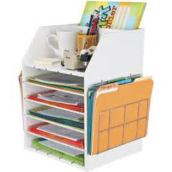 Best Desk Organizers Really Teachers Desktop Organizer With Paper Holders