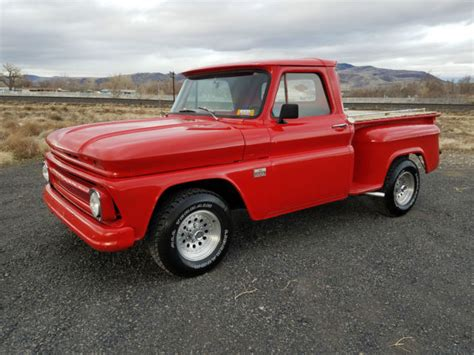 single cab short bed chevy 1966 chevrolet c 10 single cab short bed step side custom