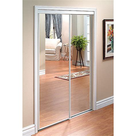 Sliding Closet Mirror Doors by Quot Quot Sliding Mirror Door Rona