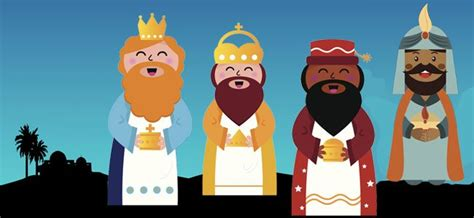 imagenes de reyes magos caricatura artab 225 n el cuarto rey mago cuento navide 241 o norteamericano