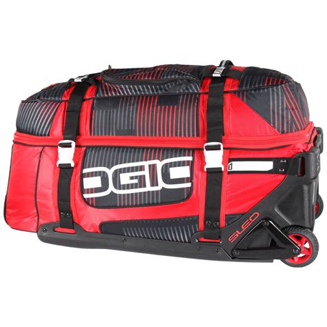 motocross gear bag ogio new rig 9800 stoke gearbag mx red black luggage
