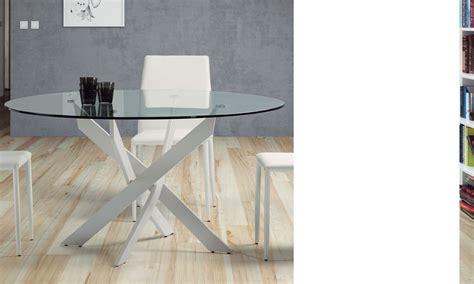 table salle a manger ronde en verre table salle a manger ronde en verre design