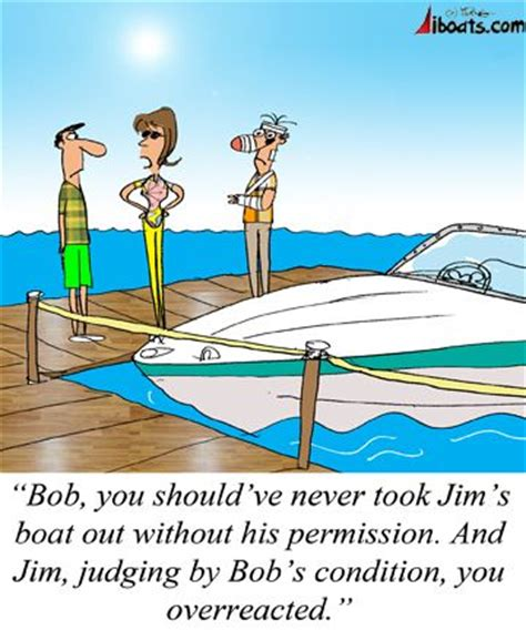 small boat jokes 20 best images about boating cartoons on pinterest the