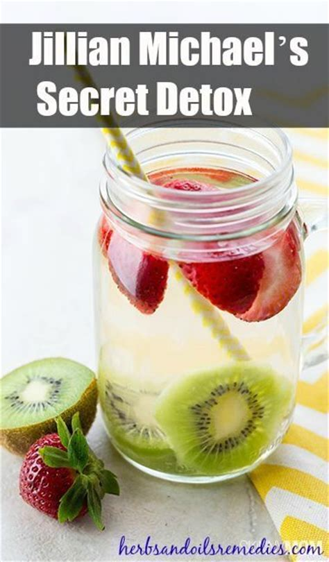 Jillian Detox Water Recipe by Jillian Detox And Detox Drinks On