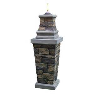 home depot torch citronella pillar torch 69855 the home depot