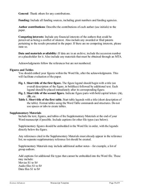 manuscript template science s manuscript template 2016