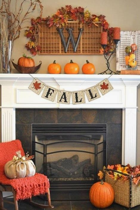 1000 ideas about fall fireplace mantel on pinterest 25 fall mantel decorating ideas southern living