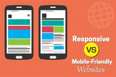 mobile friendly websites difference between responsive and mobile friendly websites