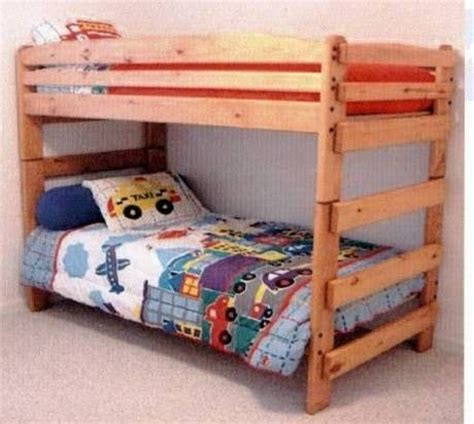 stackable twin beds hand made paul bunyan stackable twin twin bunk bed by